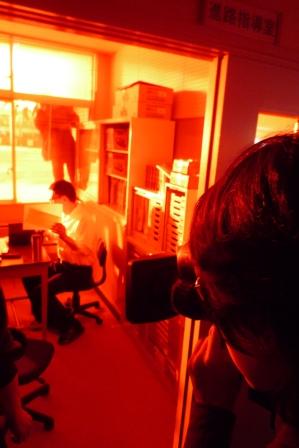 夕陽の指導室.JPG