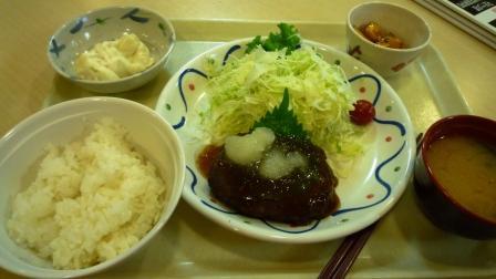 学食の定食.JPG