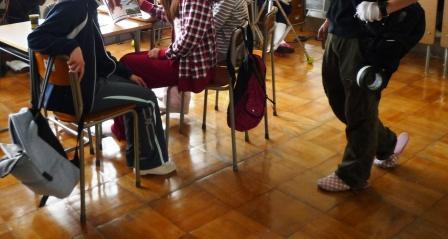 教室シーンの撮影.JPG
